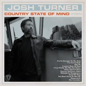"""JOSH TURNER: """"Country State Of Mind"""" cover album"""