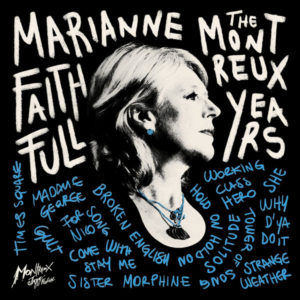 MARIANNE FAITHFULL – 'The Montreux Years' cover aalbum